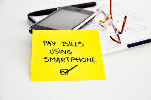 bill payment using smart phone
